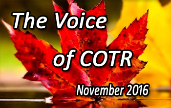 COTR Voice November Issue 2016