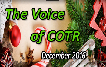 COTR Voice December Issue 2016