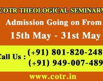 COTR Admission & Interview