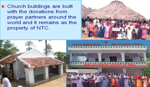 The New Testament Church of India (NTC)