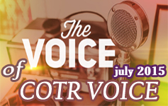 COTR Voice July 2015 Issue