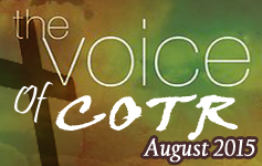 COTR Voice August 2015 Issue