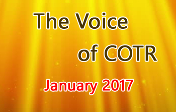 COTR Voice January Issue 2017
