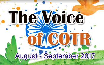 COTR Voice August - September Issue 2017