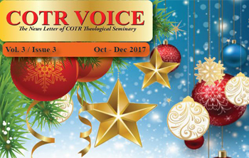COTR Voice October - December Issue 2017